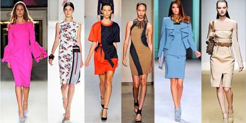 Все модные платья за 2012