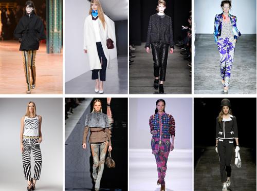 Женские брюки на осень 2013