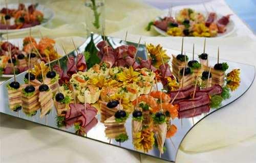 Рецепты для фуршетного стола на свадьбу дома